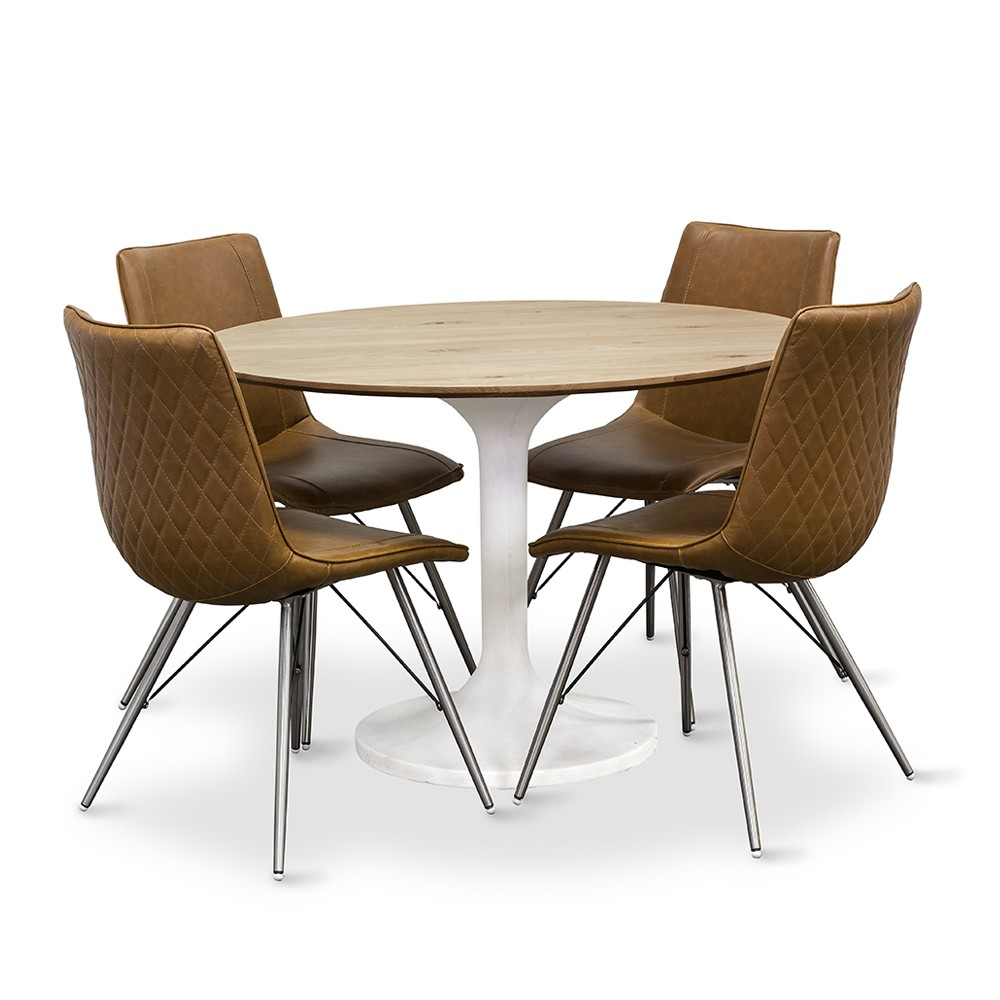 Tulip Round Dining Table Living With Style