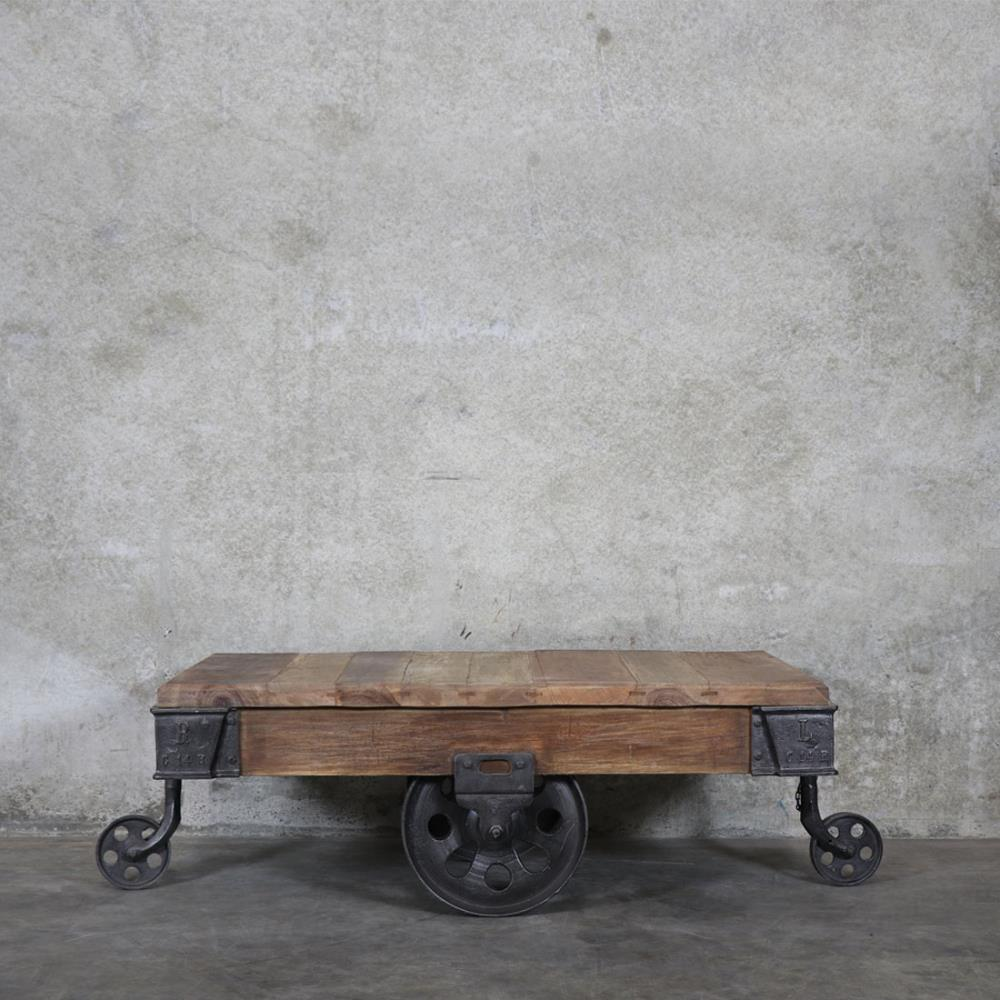 Bank Baggage Trolley Coffee Table Living With Style